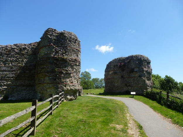 The West Gate of Pevensey Roman Fort